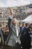 Nelson Mandela in Japan Photographic Print by Itsuo Inouye