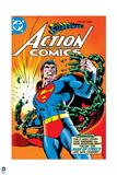 Superman: Superman's Action Comics Cover - Superman Breaking Through Chains Prints