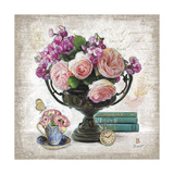 Vintage Estate Florals 4 Giclee Print by Chad Barrett