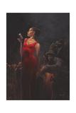 Garnet Diva Giclee Print by Bella Lynch
