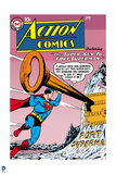 Superman: Action Comics Color Cover - Superman and the Key to Fort Superman Prints
