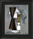 Tete de Femme Poster par Pablo Picasso