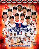 Boston Red Sox - Ortiz, Peavy, Lester, Victorino, Ellsbury, Buchholz, Uehara, Pedroia, Saltalamacch Photo