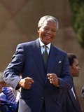Nelson Mandela Photographic Print by John Parkin