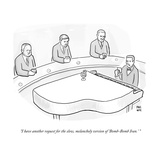 """I have another request for the slow, melancholy version of 'Bomb-Bomb Ira - Cartoon Premium Giclee Print by Paul Noth"