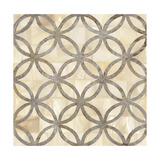 Natural Moroccan Tile 4 Print by Hope Smith