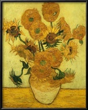 Sonnenblumen Gerahmter Giclée-Druck von Vincent van Gogh