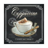 Coffee House Cappuccino Print by Chad Barrett