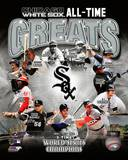 Chicago White Sox - Thomas, Ventura, Konerko, Fisk, Minoso, Pierzynski, Aparicio, Williams, Collins Photo