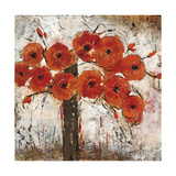 Abundant Poppies 1 Giclee Print by  Carmon