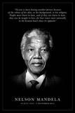 Nelson Mandela - Commemorative Poster