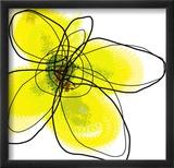 Yellow Petals 1 Innrammet fotografisk trykk av Jan Weiss