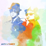 Blues Brothers Premium Giclee Print by  NaxArt