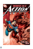 Superman: Action Comics with Superman: Safrifice Part 2 Posters
