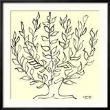 Der schlichte Baum Poster von Henri Matisse