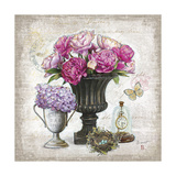 Vintage Estate Florals 1 Print by Chad Barrett