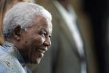 Nelson Mandela Photographic Print by Themba Hadebe