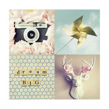 Dream Big Giclee Print by Vicki Dvorak