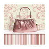 Coral Pink Purse 2 Giclee Print by Carolyn Fisk