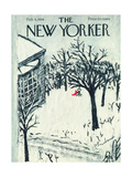 The New Yorker Cover - February 4, 1956 Regular Giclee Print by Abe Birnbaum