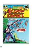 Superman: Action Comics Cover - This is a Job for Superman! Clark Kent to Superman Transformation Poster