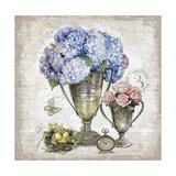 Vintage Estate Florals 3 Poster von Chad Barrett