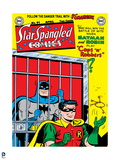 Batman: Old Comic Book Cover - Batman Locked Up and Robin with the Keys Posters