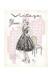 Vintage Glamour Kunstdrucke von Chad Barrett