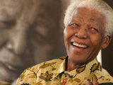 Nelson Mandela Photographic Print by Denis Farrell