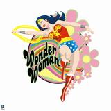 Wonder Woman: Wonder Woman with Flowers Prints