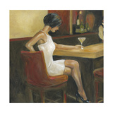 Woman in White 1 Prints by Sandra Smith