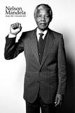 Nelson Mandela -Salute Poster