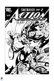 Superman: Action Comics with Superman: Safrifice Part 2 Prints