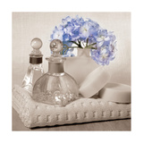 Hydrangea and Towel Giclée-Druck von Julie Greenwood