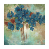 Contemporary Blooms 2 Giclee Print by Sandra Smith