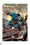 Justice League: Deathstroke Attacks: Sword in Hand, Gun in Hand, Knife in Mouth Prints