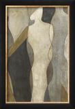 Figure Overlay I Gerahmter Giclée-Druck von Megan Meagher