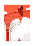 The New Yorker Regular Giclee Print by Simone Massoni