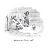 """""""Have you seen his sippy skull?"""" - New Yorker Cartoon Premium Giclee Print by Paul Noth"""