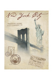 Bridge to NYC Prints by Arnie Fisk