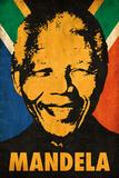 Nelson Mandela - Stencil Affiches