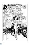 DC Originals: Line Work for an Old Wonder Woman Comic Cover - Done with the Evils of Man's World! Posters