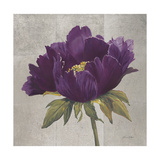 Plum Peonies 3 Prints by Gloria Eriksen