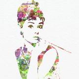 Audrey Hepburn 2 Poster von  NaxArt