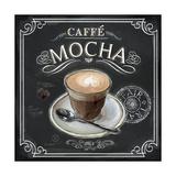 Coffee House Caffe Mocha Kunstdrucke von Chad Barrett