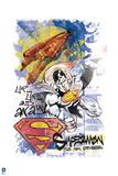 Superman: Superman Collage Design Poster