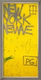Sans titre, 1980 Estampe encadrée par Jean-Michel Basquiat