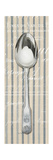 Pin Stripe Spoon   Giclee Print by Arnie Fisk
