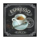 Coffee House Espresso Kunstdrucke von Chad Barrett