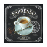 Coffee House Espresso Posters by Chad Barrett